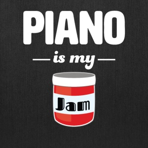 Piano is my Jam - Tote Bag