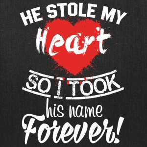 He Stolen My Heart T Shirt - Tote Bag