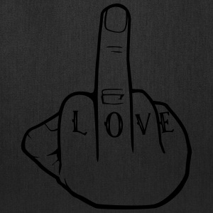 Fuck Love - Middlefinger - Fuck you - Tote Bag
