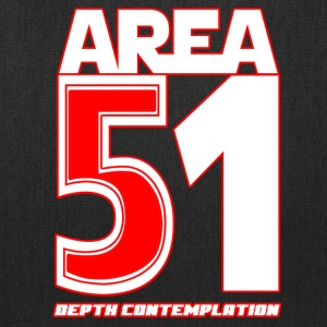 Area 51 T-Shirt Depth Contemplation - Tote Bag