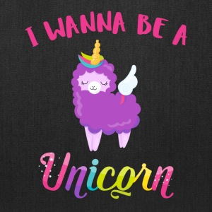 I wanna be a unicorn - Tote Bag