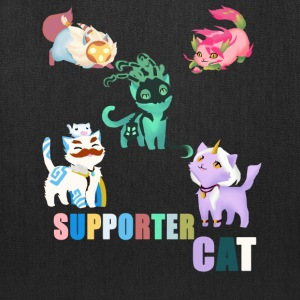 Supporter Cat - Tote Bag