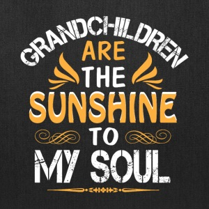 Grandchildren Are The Sunshine To My Soul T Shirt - Tote Bag