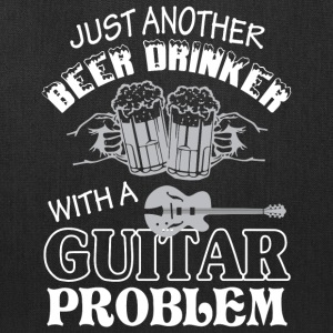 Beer Drinker With A Guitar T Shirt - Tote Bag