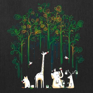 Meanwhile In The Woods - Tote Bag