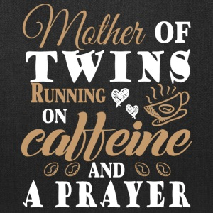 Running On Caffeine And A Prayer T Shirt - Tote Bag
