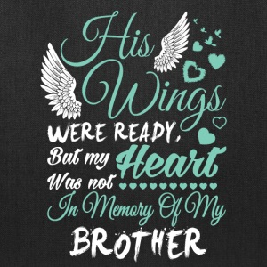 In Memory Of My Brother T Shirt - Tote Bag