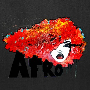 Afro Rush Bighair Natural Hair Style - Tote Bag