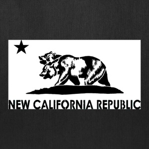New California Republic Graphic Tee - Tote Bag
