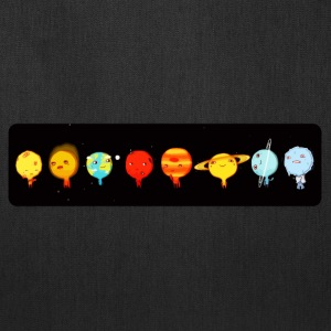 Cute planets comic - Tote Bag