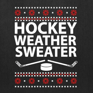 Hockey Weather Sweater - Tote Bag