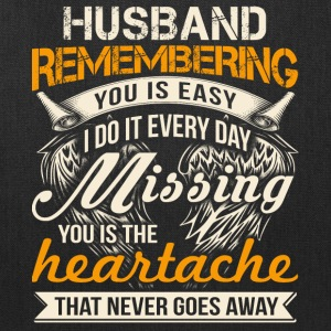 Husband Remembering T Shirt - Tote Bag