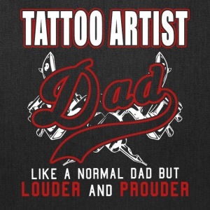 Tattoo Artist Dad Louder And Prouder - Tote Bag