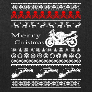 merry christmas motorcycle - Tote Bag