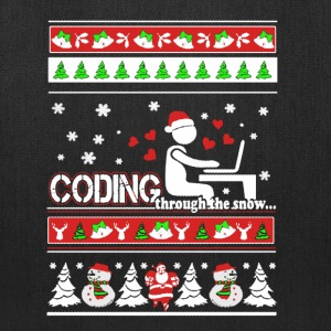 Coding Christmas Shirts - Tote Bag