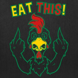 Eat This!! Funny Vegans Shirt - Tote Bag