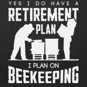 I Plan On Beekeeping T Shirt - Tote Bag