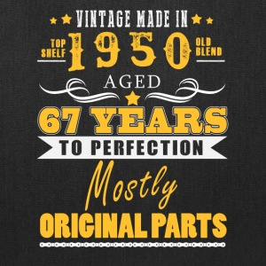 Vintage made in 1950 - 67 years to perfection (v.2017) - Tote Bag
