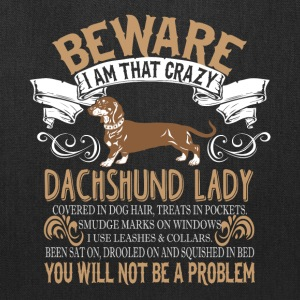 I Am Dachshund Lady T Shirt - Tote Bag