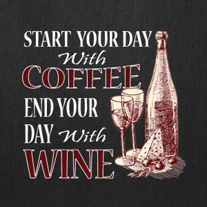 Coffee And Wine T Shirt - Tote Bag