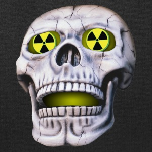 nuclear skull - Tote Bag
