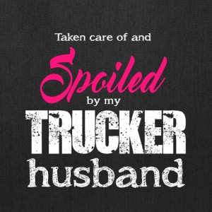 Spoiled By My Trucker Husband T Shirt - Tote Bag
