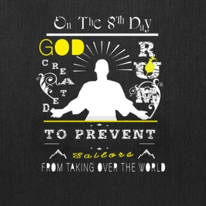 On The 8th Day God Created Rum To Prevent T Shirt - Tote Bag