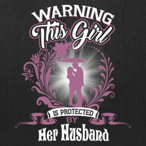 This Girl Is Protected Her Husband T Shirt - Tote Bag