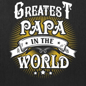 Greatest Papa In The World T Shirt - Tote Bag