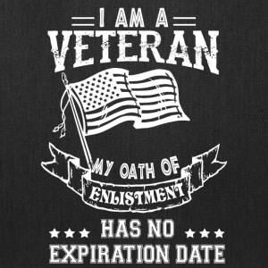 I Am A Veteran T Shirt - Tote Bag