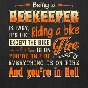 Being A Beekeeper T Shirt - Tote Bag