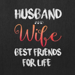 Husband And Wife Best Friend For Life T Shirt - Tote Bag