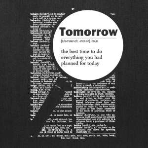 Tomorrow funny definition - Tote Bag