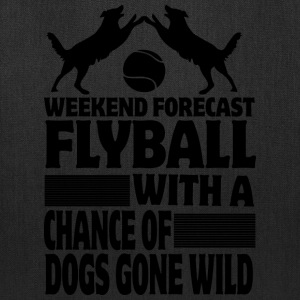 Weekend Forecast Flyball - Tote Bag