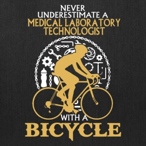 Medical Lab Tech With A Bicycle Shirt - Tote Bag