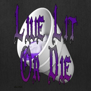 live_lit_or_die_3 - Tote Bag