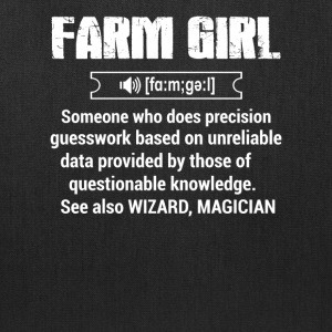 Define Farm girl T Shirts - Tote Bag