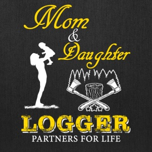Mom and Daughter Logger T-Shirt - Tote Bag