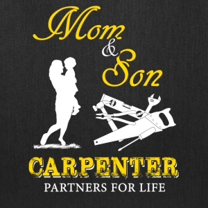 Mom and Son Carpenter T-Shirts - Tote Bag