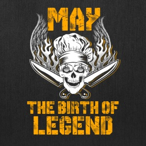 May the birth of legend Chef T-Shirts - Tote Bag