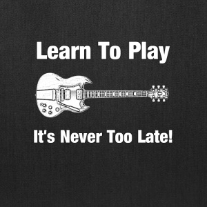Learn to play guitar - Tote Bag