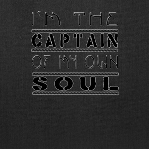 Captain Of My Soul - Tote Bag