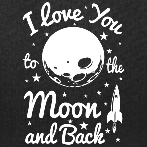 I Love You To The Moon - Tote Bag