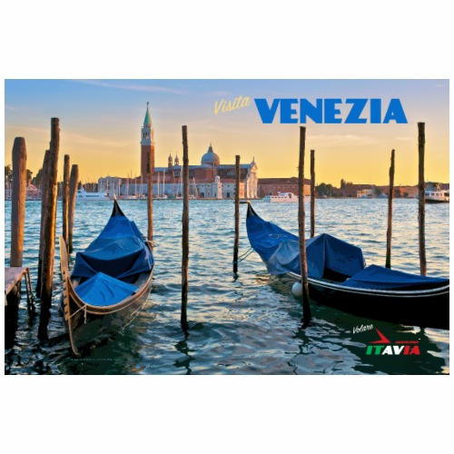 Vintage Venice Travel Poster - Tote Bag