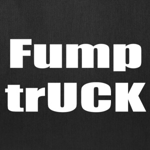 Fump trUCK (white text) - Tote Bag