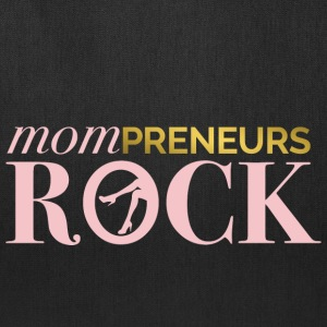 Mompreneurs Rock Logo PINK - Tote Bag