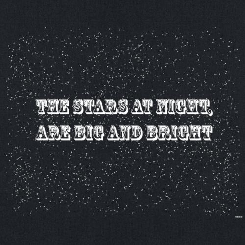 The Stars at Night - Tote Bag