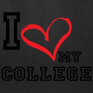 I_LOVE_MY_COLLEGE - Tote Bag
