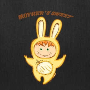 Mother's Sweet bunny - Shirts for kids - Tote Bag
