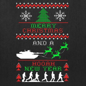 Army Christmas Tee Shirt - Tote Bag